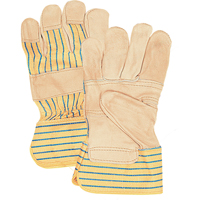 Grain Cowhide Fitters Patch Palm Gloves SAP230 | Brunswick Fyr & Safety